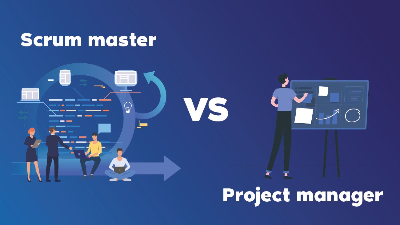 Scrum Master vs Project Manager || OAK Interlink Company Limited