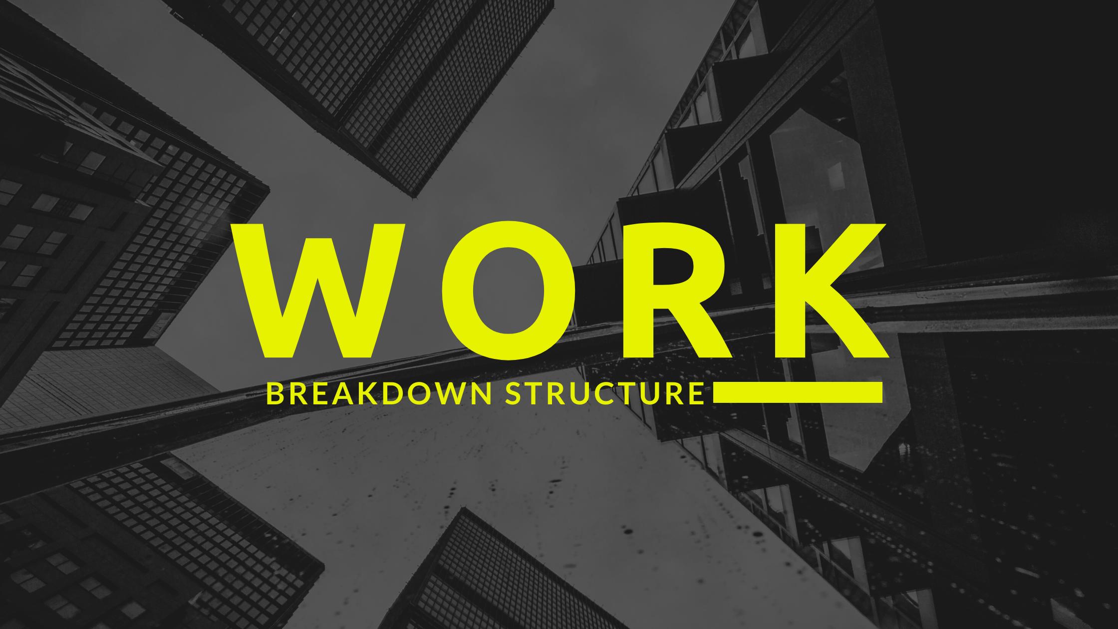 Work Breakdown Structure || OAK Interlink Company Limited